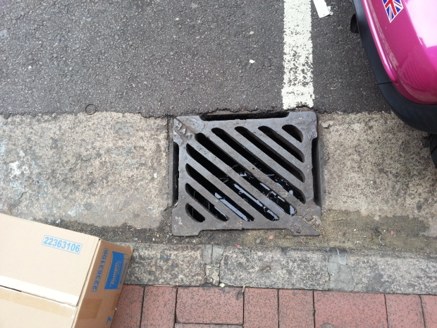Hong Kong Sewer Grate