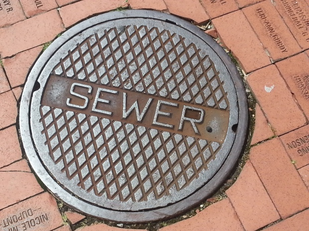 Sewer in New Orleans